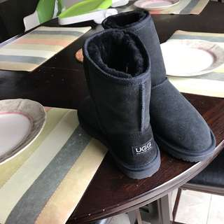 UGG Black Boots Size 8
