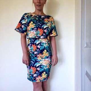 Beautiful Floral Print Dress