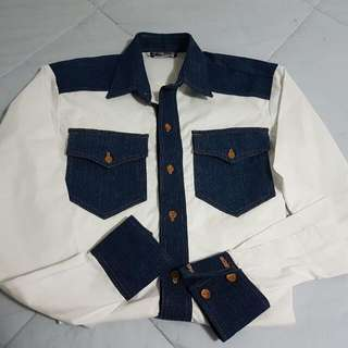 Dress Shirt Jean Style
