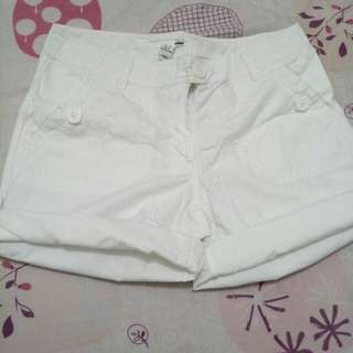 H&M White Shorts
