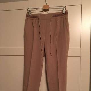 Zara Pleated Draw String Trousers