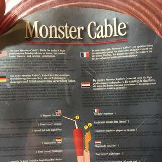 15/15 4.6 Monster Cable