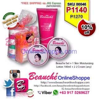 Beauche Set + 1 Skin Moisturizing Lotion 100ml + 2 Cream (any) (SKU 00046)