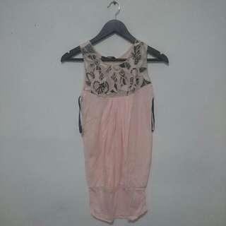 #jatuhharga Dorothy Perkins Peach Dress Pink