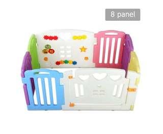 8 Panels Interactive Baby Playpen