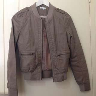 Mocha Leather Jacket