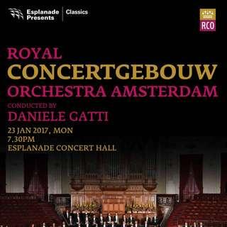 2 x Royal Concertgebouw Orchestra Tickets