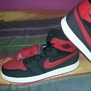 air jordan 1 breds knockout size 9.5