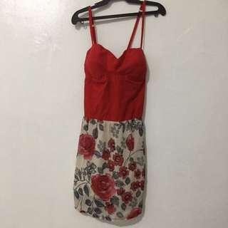 Red Tube Dress S-M