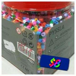 IKEA Brand NEW PYSSLA Beads