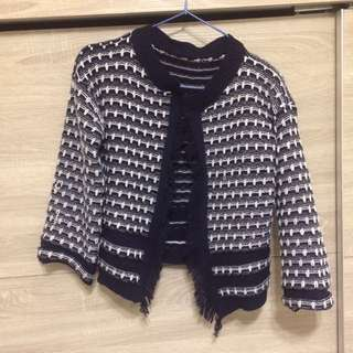 韓國購入小香風針織外套