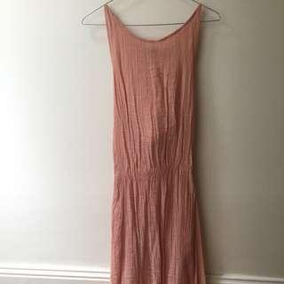 Peach Sun Dress