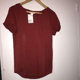 red Top H&m