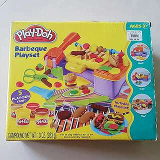 Play-doh Barbeque Set