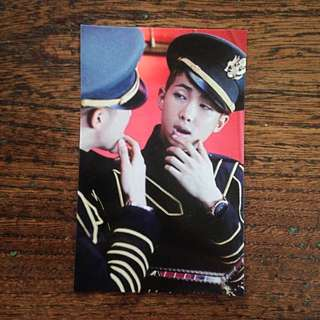 BTS RapMon 'Young Forever' (DOPE era) Official Photo-Card