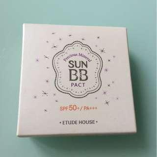 Etude House precious mineral sun bb pact spf 50+ pa+++