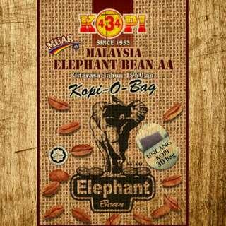 Kopi 434 Elephant Bean AA Super Special Kopi O Bag
