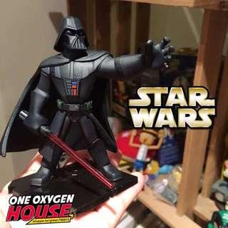 🚚 絕版 星際大戰 STAR WARS 黑武士 光劍 公仔 玩具 擺飾 場景 擺件 白兵 尤達