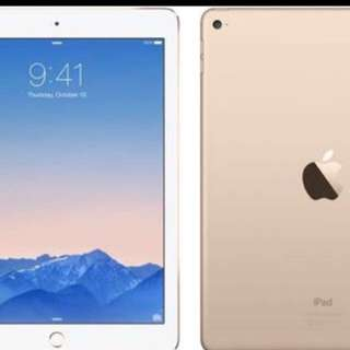 WIFI ONLY Ipad Air 2 Gold 64 gb