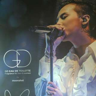 G Dragon Poster(With Signature)
