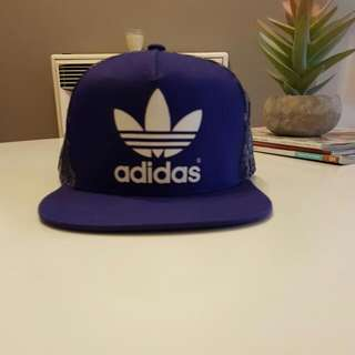 Adidas Hat Purple