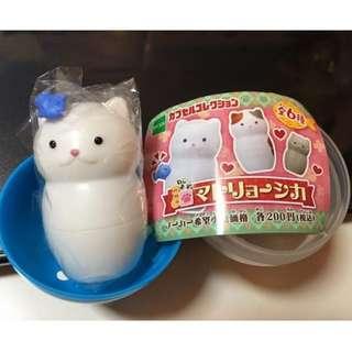 俄羅斯娃娃 貓 貓咪 轉蛋 扭蛋 正版 現貨 公仔 日本