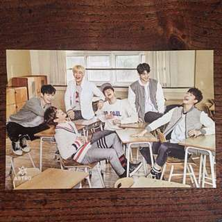 ASTRO 'Spring Up' Official Group Photo-Card