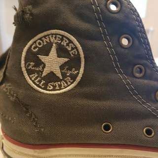 Vintage Look Converse Hightops