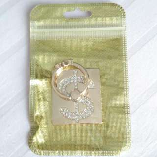 Ring Stent Premium Dollar Gold