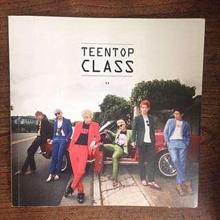 TEEN TOP 'CLASS' Album