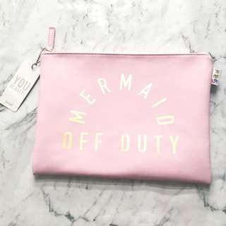 """Mermaid Off Duty"" Pencil case"