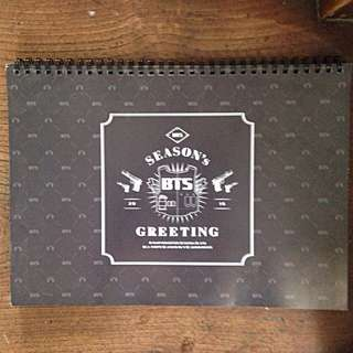 BTS Seasons Greetings 2016 Official Photo Calendar