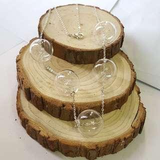 玻璃球項鏈 Handmade glass necklace