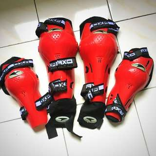 Racing Knee and Arm pads full set