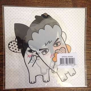 BTS 'HIPHOP MONSTER' PVC Stickers