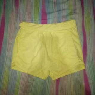 Celana Rok Kuning