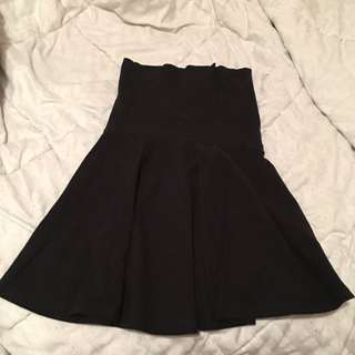 American Apparel Tube Skirt Dress