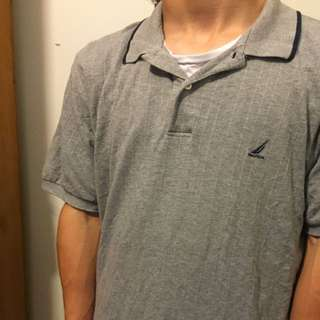 Grey Nautica Polo