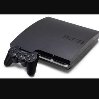 PS3 With 2 Control