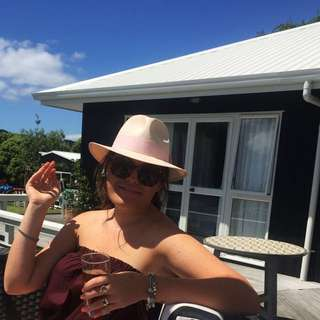 RUBY Fedora Straw Hat