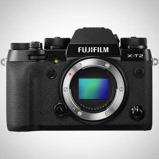 Fujifilm X-T2 Mirrorless Digital Camera (Body Only)Graphite Silver Edition
