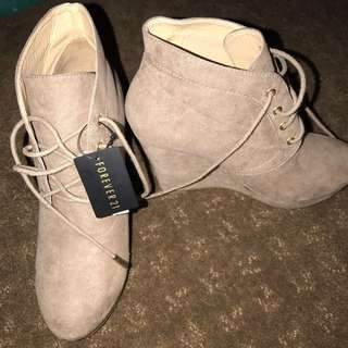 Wedge Booties Forever21 ono
