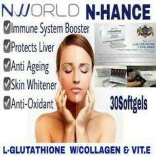 Nhance Glutathione With Collagen