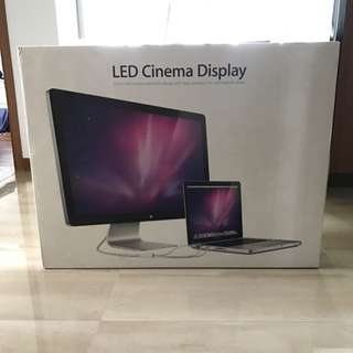 """Apple 27"""" LED Cinema Display (Mini DisplayPort Not Thunderbolt)"""