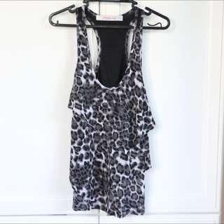 Sexy Leopard Print Top