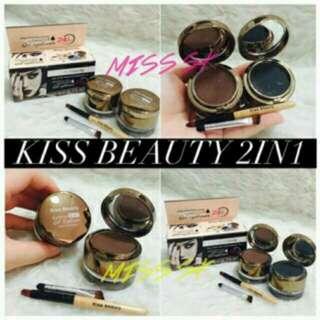 Kiss N Beauty Eyelinear And Eyebrow