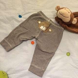 Carters猴子長褲(6M)