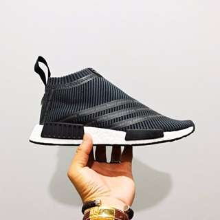 fceaf2b53231d7 Adidas x White Mountaineering NMD CS1 Primeknit Black - UK9