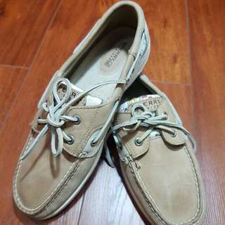 Sperry Bluefish Tan Art Scene Shoes