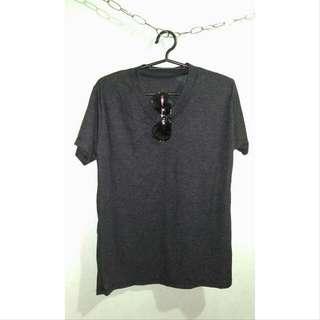 Plain Vneck Shirt